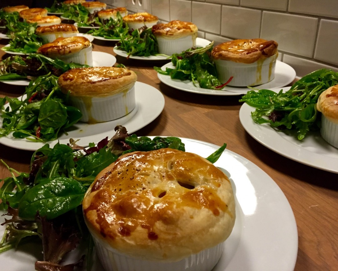 Vegetable Pot Pies for IXDS