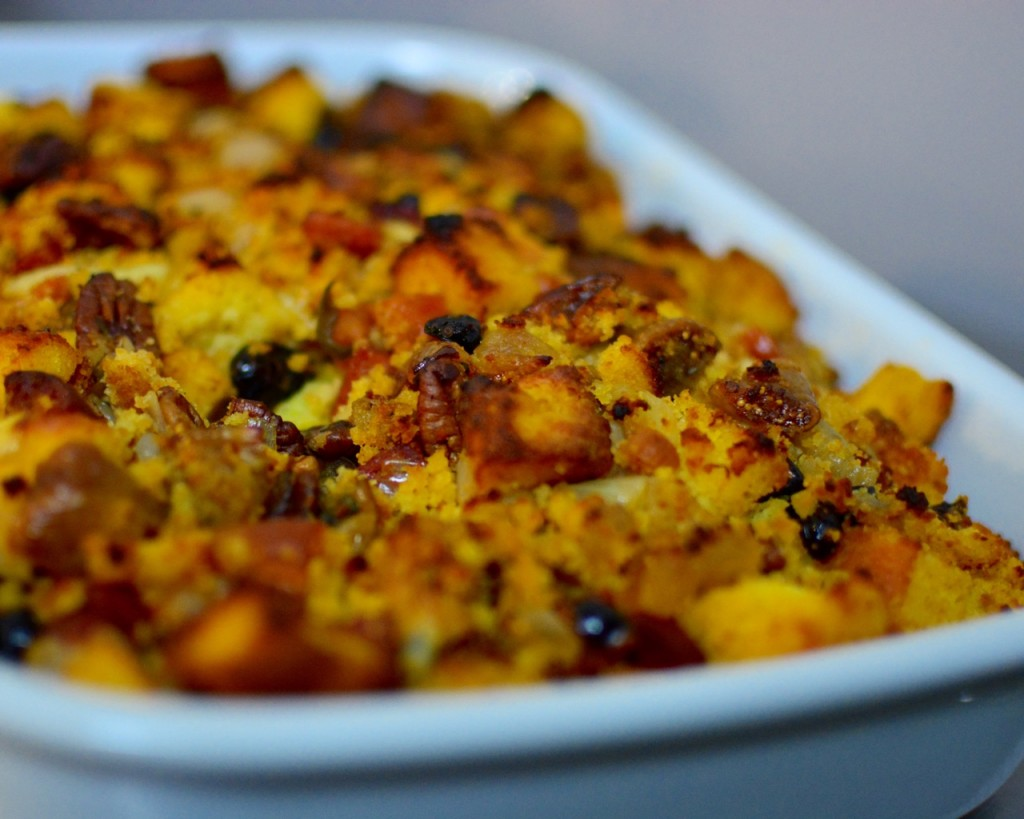 Sweet & Spicy Cornbread Stuffing
