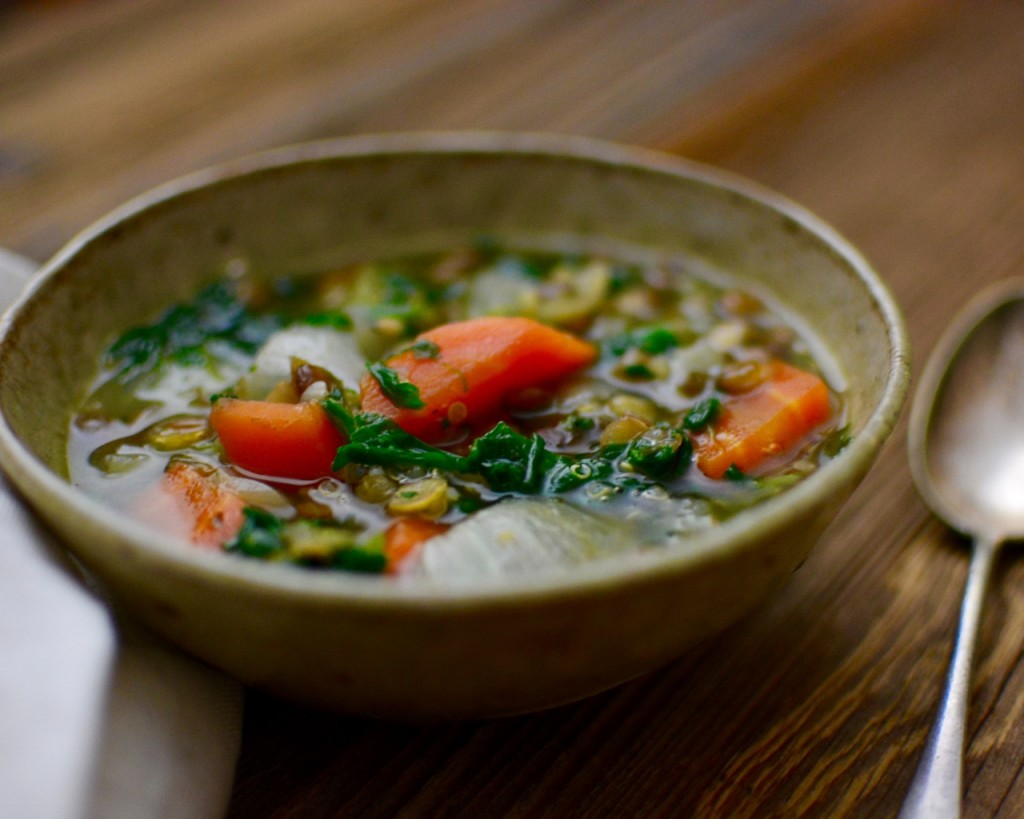 Restorative Vegetable Soup