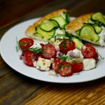 Tomatoes with Feta and Dill